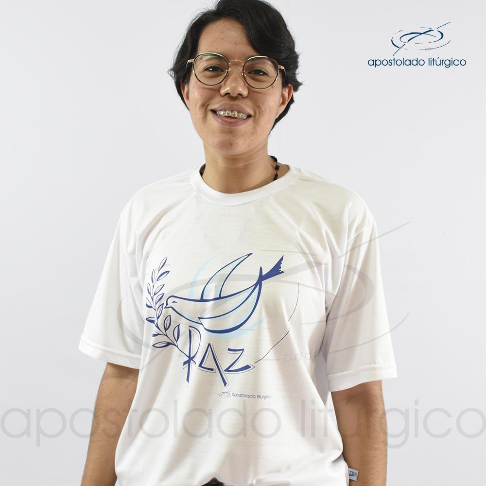 Camiseta da Paz belimar | Apostolado Litúrgico Brasil