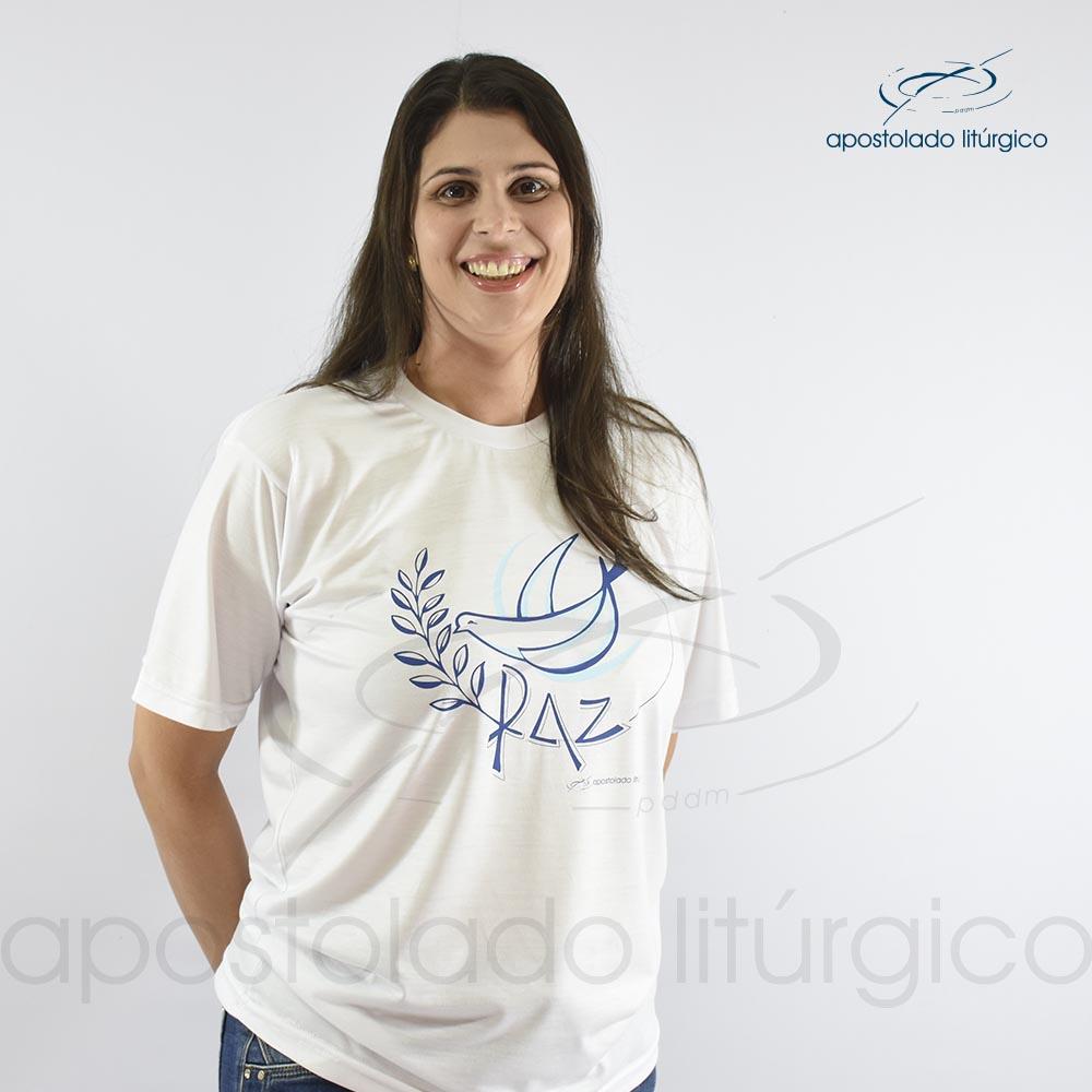 Camiseta da Paz   Apostolado Litúrgico Brasil