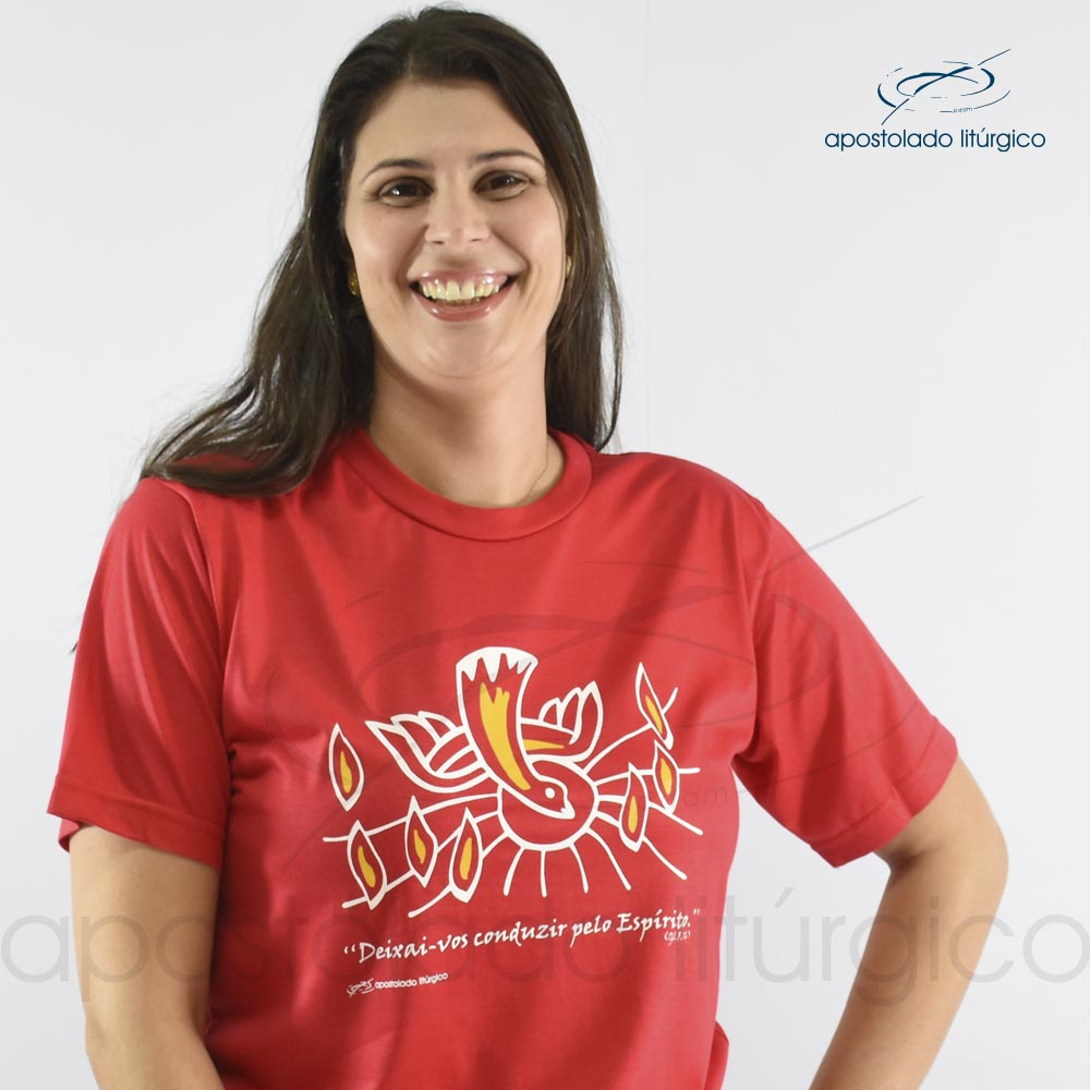 Camiseta do Espírito Santo | Apostolado Litúrgico Brasil