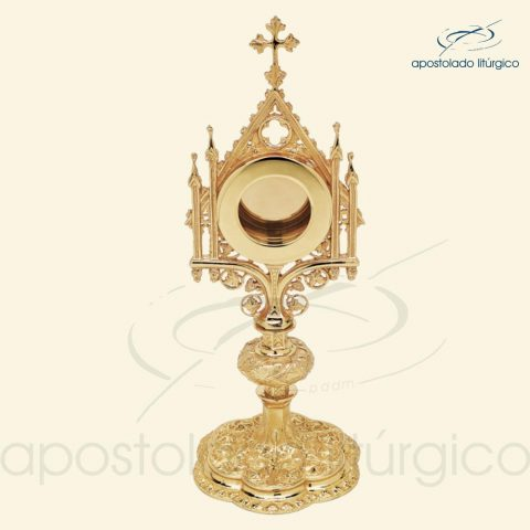 Relicário gótico dourado 7453