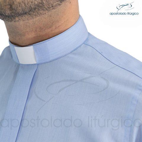 Camisa Slim Fit Gola Clerical