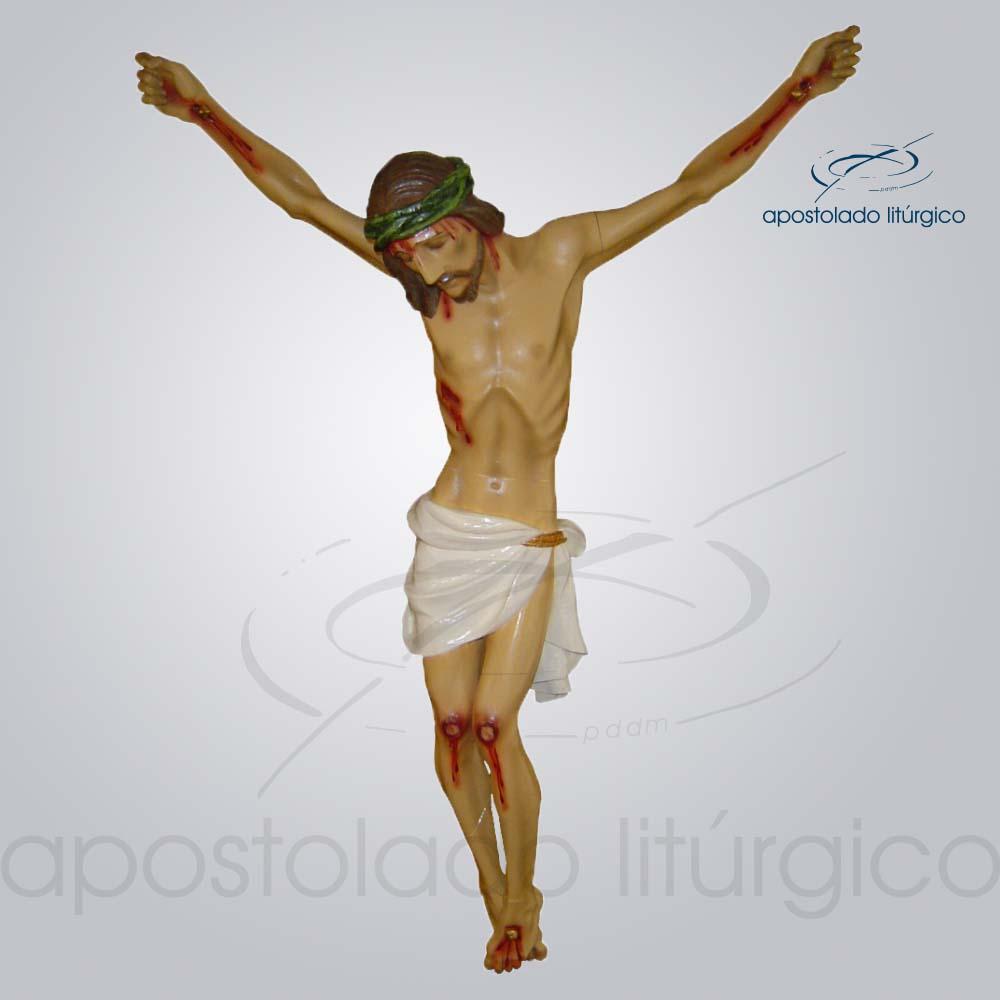 Imagem Cristo Crucificado 75cm Sem Cruz