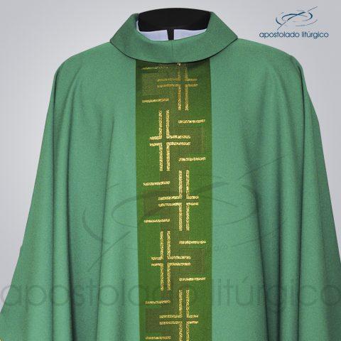 Casula Oxford Galão [Caminho 2] Verde Frente Detalhe