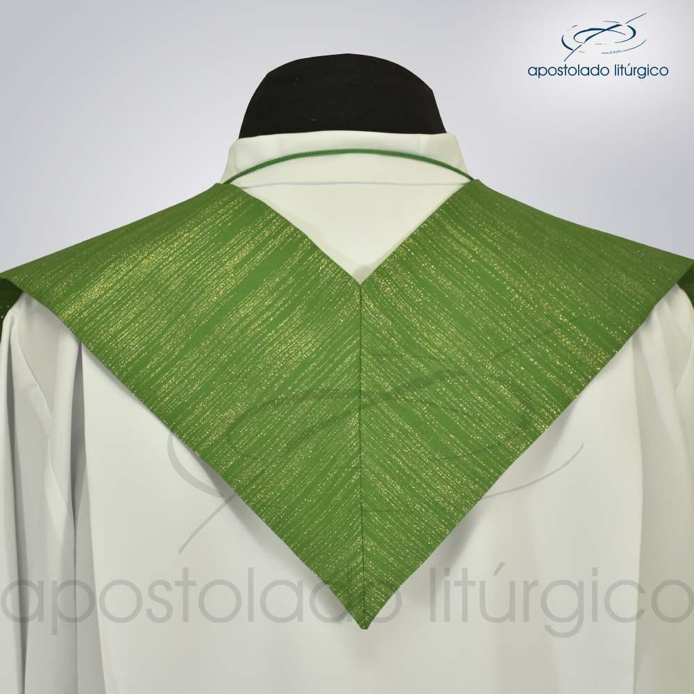 Estola Ravena Verde Presbiteral Costa | Apostolado Litúrgico Brasil