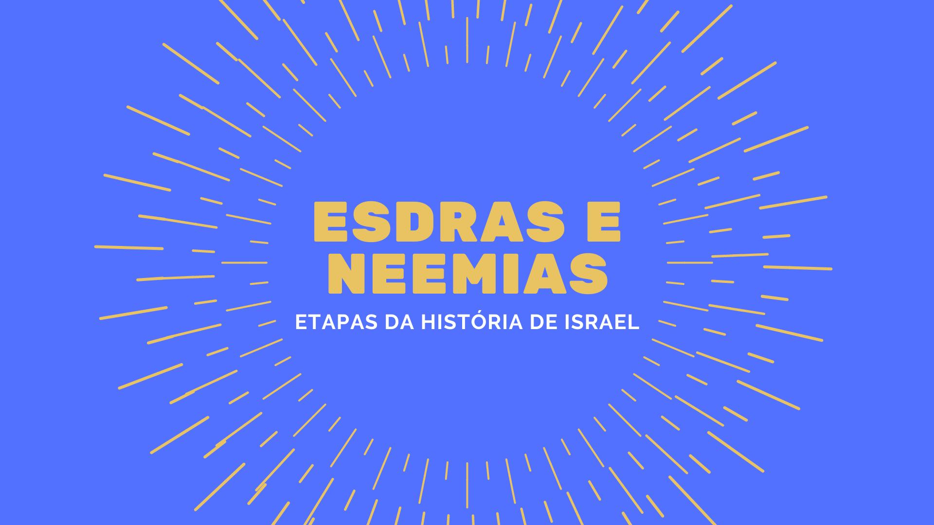 esdras e neemias amarelo e branco | Apostolado Litúrgico Brasil